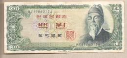 Corea Del Sud - Banconota Circolata Da 100 Won - 1965 - Corea Del Sud