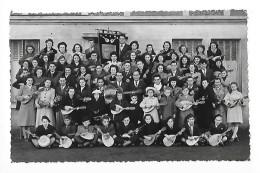 MONTFERRAND  (carte Photo 63) Le Mandoline Orchestre De Montferrand En 1948 -   - L 1 - France
