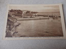BELLE ILE EN MER - LE PALAIS - L'entrée Du Port Les Phares Et La Citadelle - Belle Ile En Mer