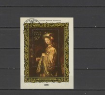USSR Russia 1973 Paintings Rembrandt S/s CTO First Day