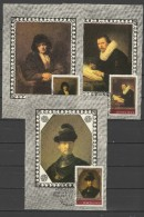 USSR Russia 1983 Paintings Rembrandt Set Of 5 Maximumcards