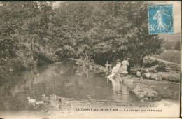 CHISSEY-en-MORVAN  -  Laveuses Au Ruisseau - France