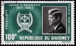 DAHOMEY - Scott #C30 John F. Kennedy / Used Stamp