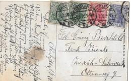BUNTFRANKATUR → Schöne Frankatur Mit Den Werten 5,10,20 Pfennige Anno 02.07.1920 - Briefe U. Dokumente