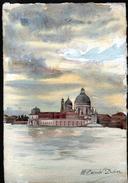 AQUARELLE 193 X 280 Mm, ARTISTE: MATHILDE CAUDEL DIDIER ( BENEZIT ), VENISE ( ITALIE ), 1909 - Acquarelli