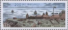 Russia 2012 Mih. 1865 Fort-Ross MNH ** - 1992-.... Federazione