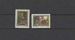 South Africa 1987 Paintings Rembrandt 2 Stamps MNH