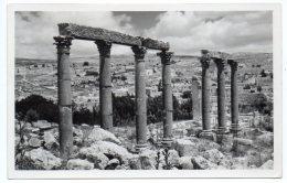 JORDAN - JERASH THE VIADUCT CHURCH - AMMAN CANCEL 1955