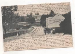 34248 -  Marchin    Chateau  Vu De Bel Air - Marchin