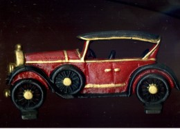 X FERMAPORTE OLD AUTO OLD CAR IN GHISA - Ferro Battuto