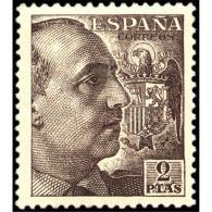 ES1057STV-LFT***1057STCSC.España.Spain  Espagne. General FRANCO .1945/55. (Ed 1057**) Sin Charnela - Sin Clasificación