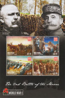 Mustique Grenadines Of St. Vincent -2015-WWI-world War One Battle Of The Marne - St.Vincent E Grenadine