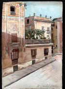 AQUARELLE 193 X 280 Mm, ARTISTE: MATHILDE CAUDEL DIDIER ( BENEZIT ), VALENCE,1903 - Aquarelles