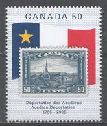 Canada 2005. Scott #2119 (MNH) Acadian Deportation, 250th Anniv. - 1952-.... Règne D'Elizabeth II