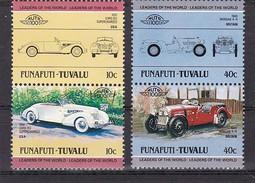 TUVALU - FUNAFUTI -  Lot De 4 Valeurs Multicolore - Automobiles    - N** - Tuvalu