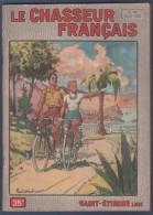 LE CHASSEUR FRANCAIS 04 1955 - CYCLOTOURISME - TENUES ET BOUTONS DE VENERIE - NANDOU - CHASSE CHAMOIS - BERGER ALLEMAND - Periódicos
