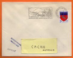 39  MOIRANS EN MONTAGNE   LE CALME DU JURA     30 / 10 / 1967 Lettre Entière N° BB 157 - Marcophilie (Lettres)
