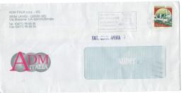 """Italia - Italy 1997 Busta Affrancata Con Annullo Meccanico Bilingue """"Alla Corte Di Re Laurino""""   Viaggiata VFU - 6. 1946-.. Repubblica"""