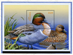 (lot 1) Gambie ** Bloc -  Oiseaux, Canards - - Gambia (1965-...)