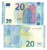 20 € Francia Oberthur E002 EA Q.FDS UNC- DA MAZZETTA  Cod.€.237 - EURO