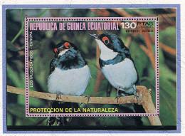 (lot 51) Guinée équatoriale ** Bloc - Oiseaux - - Guinée Equatoriale