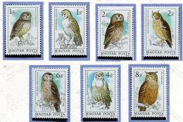 Hongrie **  N° 2952 à 2958 - Oiseaux -