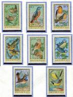 Hongrie **  PA N° 360 à 367 - Oiseaux  -