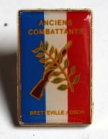 Pin's Militaria Ancien Combattant Bretteville Sur Odon - Militaria