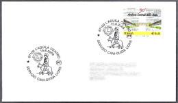 SERVICIO DE PERROS GUIA De LIONS - Service Guide Dog Of Lions. L´Aquila 2003 - Behinderungen