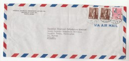1965 Air Mail  JAPAN Stamps COVER Imperial Chemical Industries Ltd To GB - 1926-89 Emperor Hirohito (Showa Era)