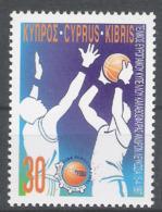 Zypern 1997 Mi# 896 ** MNH Sport Basketball - Basketball