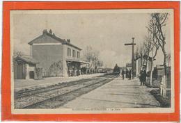 Herault : St Genies De Mourgues, La Gare - Frankrijk