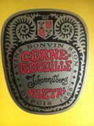 2064 - Suisse Valais Johannisberg Flétri Corne-Gidouille - Etiquettes