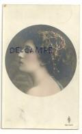 Jeune Fille En Médaillon. 1910 - Women
