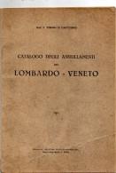 CATALOGO DEGLI ANNULLAMENTI DEL LOMBARDO - VENETO - Italia