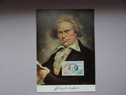 CARTE MAXIMUM CARD BEETHOVEN BONN AVEC OSI - Cartoline Maximum