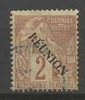 REUNION N° 18 AVEC ACCENT SUR E  DE REUNION OBL   TB - Réunion (1852-1975)