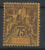 Colonies Gabon N° 29 Neuf Avec Charnière
