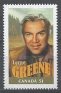 Canada 2006. Scott #2153c (MNH) Canadians In Hollywwod: Lorne Greene (1915-87) - Neufs