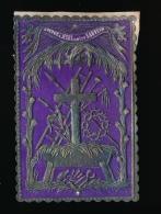 IMAGE PIEUSE GAUFREE = 10,5 X 7 CM - ARRIERE PETIT PAPIER COLLE  =  VOIR  2 SCAN - Imágenes Religiosas