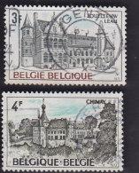 Belgique. Zoutleeuw-Léau 1685. Château De Chimay 1686 - Used Stamps