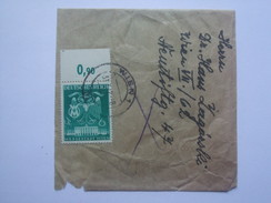 GERMANY 1943 NEWSPAPER WRAPPER WITH 6PF MESSESTADT WIEN VIENNA FAIR STAMP POSTMARKED WIEN `OSKAR ZAGORSKI` - Allemagne