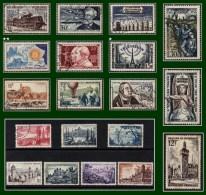France Entre N° 998 Et 1054 Obl. Et Neuf 1955 /6 (cote XX à Voir !) - Collections