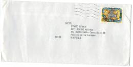 """Italia - Italy 1994 Busta Affrancata Con Valore Da 750L Emissione 1993 """"I Tasso E La Storia Postale""""  Viaggiata VFU - 6. 1946-.. Repubblica"""