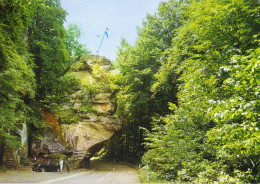 LUSSEMBURGO - LUXEMBOURG - 1982 - 6F Ehnen + Flamme Gardez Vos Distances - Echternach - Petite Suisse Luxembourgeoise... - Echternach