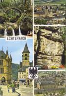 LUSSEMBURGO - LUXEMBOURG - 1982 - 6F + Flamme Post Code - Echternach - Multivues - Viaggiata Da Echternach Per Tilbur... - Echternach