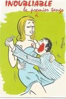 Illustrateur Alexandre Inoubliable Le Premier Tango - Alexandre