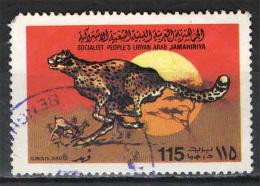 LIBIA - 1979 - GHEPARDO - USATO - Libië