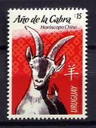 Uruguay 2015 / Year Of Goat MNH Año De La Cabra / Cu1035  31 - Chinese New Year
