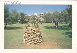 Italy, SCIACCA, (Sicilia), Hotel Lipari, Used Postcard [18987] - Unclassified